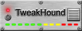 TweakHound's 1st Logo, circa 2002!